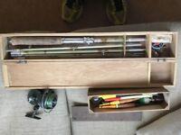 Vintage rod package