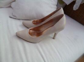 Three pairs of stilettos size 4, hardly worn
