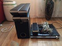 sony dvd home theathre system dav-dz630 50£