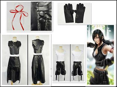 Final Fantasy VII FF7 TIFA Cosplay (Tifa Final Fantasy Kostüm)