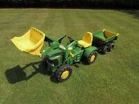 John Deere Tractor & Trailor