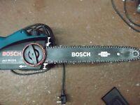 a BOSCH 240v chain saw