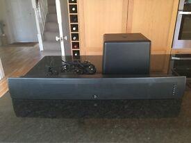 Boston Acoustics Tvee Model 25 Soundbar + Wireless Subwoofer Black