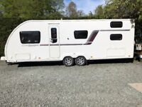 Caravan with Kampa air awning - Swift Challenger 636 Hi-style (6 berth)