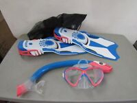Divers Snorkeling set in carry bag, size Medium