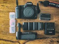 Canon 5D Mark II + BG-E6 Grip + Extras [ shutter count under 10k ]