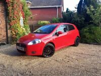 FOR SALE Red Fiat Punto Sporting