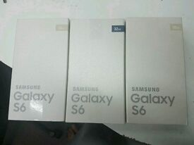 SAMSUNG S6 32GB NEW SEALED UNLOCKED TO ALL NETWORK WITH RECEIPT AND WARRANTY