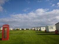 Static caravan pitches available on quiet holiday park in Solva