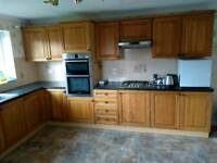 Complete kitchen including hob, oven, water softener etc