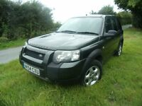 2004 LANDROVER FREELANDER TD4 4X4 DRIVES WELL