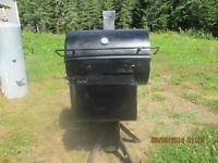 stainless steel  BBQ and smoker