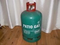 CALOR GAS BOTTLE FULL. 13KG PATIO GAS