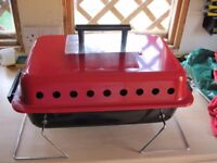Portable Gas BBQ with Lava Rock in Very Good Clean Condition