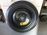 Space saver space wheel to fit Volvo V40 2012-2017