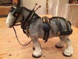 Vintage Melba Ware Shire Horse