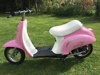 Razor Bella pocket mod electric scooter pink