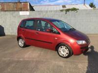 2004 fiat idea dynamic 1.4 petrol (one owner car)