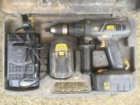 SITE 18v cordless hammer drill - spares or repair