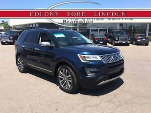 2017 Ford Explorer FORD DEMO, TOP OF THE LINE PLATINUM!