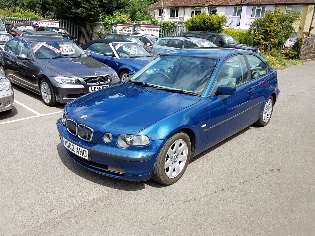 2002 BMW 3 Series 2.0 318ti SE Compact with Full service history