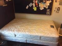 Small Double Divan Bed (Nearly New)