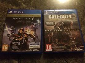 Destiny The Taken King And Cod advanced Warfare