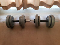 York Dumbbell Weights - Excellent Condition