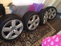 18 inch Audi S Line Ronal Alloys