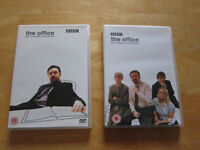 THE OFFICE SERIES ONE & TWO DVDS - 3 DISC BOX SET - EXCELLENT CONDITION