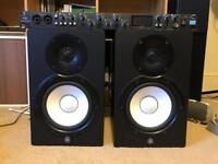 Yamaha HS7 Active Monitors + Floor Stands