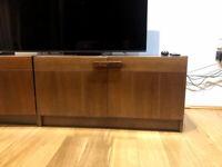 Pair of Mid Century Danish Rosewood Media Cabinets - Sideboard - Retro