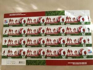 FIFA World Cup Stamp Sheet