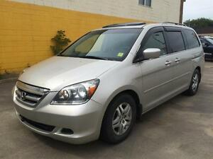 2005 Honda Odyssey EX w/ Fully Loaded Leather Auto Doors, Sunroo