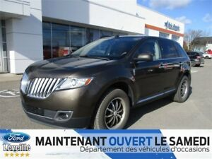 2011 Lincoln MKX AWD/CUIR/TOIT PANO/GPS/57 871KM !!!