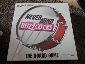 Board Game Never Mind the Buzzcoks