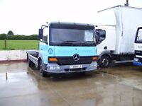 1999 MERCEDES ATEGO 815 7.5 TON CHASSIS & CAB