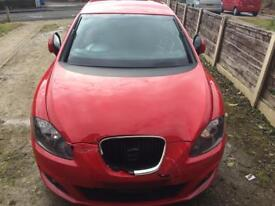 2010 Seat Leon 1.4 SE TSI Turbo Engine CAXC RED LC3H breaking Parts