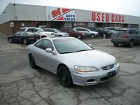 2002 Honda Accord EX-V6 ~ LOADED ~ CERTIFIED & E-TESTED