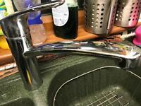 Kitchen mixer tap - nearly new