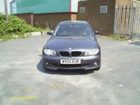 BMW 116 2005 NEEDS MOT CHEAP OFFERS OR PX BMW SPARES REPAIRS