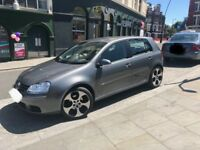 Volkswagen Golf 1.9 diesel TDI automatic dark grey fantastic condition monza 18 alloys GTI 2008