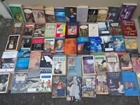 BOOKS,BOOKS,BOOKS...English literature students books novels,poetry,etc ideal for car boot 140 books