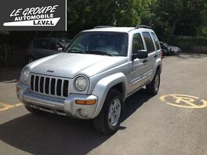 2002 Jeep Liberty Limited Edition4x4 cuir