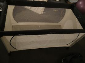 Travel Cot Almost New Condition