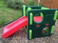 Little tykes activity gym and second slide