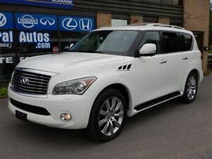 2012 Infiniti QX56 FULL LOAD*NAVI*7 Passenger*CAMERA 360*