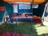 2001 Raclet Trailer Tent