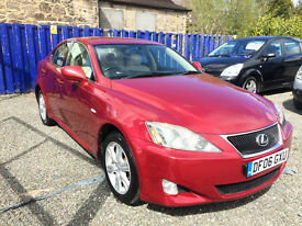 STUNNING LEXUS IS220 DIESEL///LOW MILEAGE GENUINE///CREAM INTERIOR///EXCELLENT SPEC