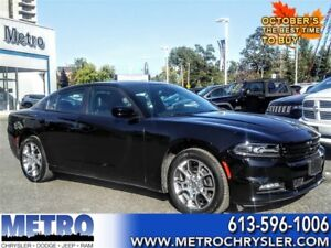 2016 Dodge Charger SXT PLUS - MINT, LOW MILEAGE, AWD